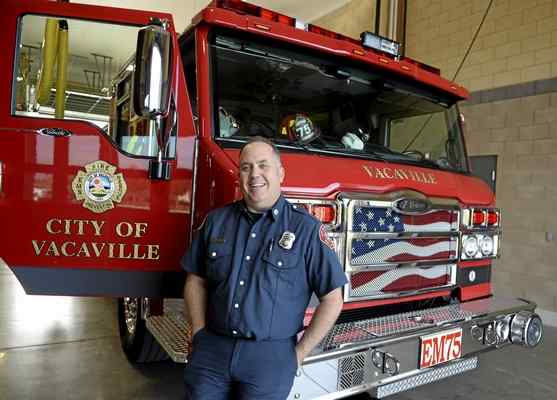 Captain Eric Wilson, Vacaville Fire Department